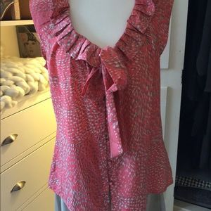 NWOT Banana Republic Sleeveless Blouse